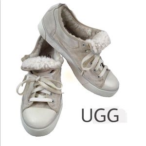 Ugg Evera Cream Low Top Sneakers